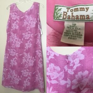 NWT Tommy Bahama Tropical Floral Shift Dress 12